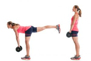 Exercises to lose weight on the buttocks at your home