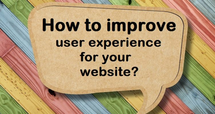 user experience for your website