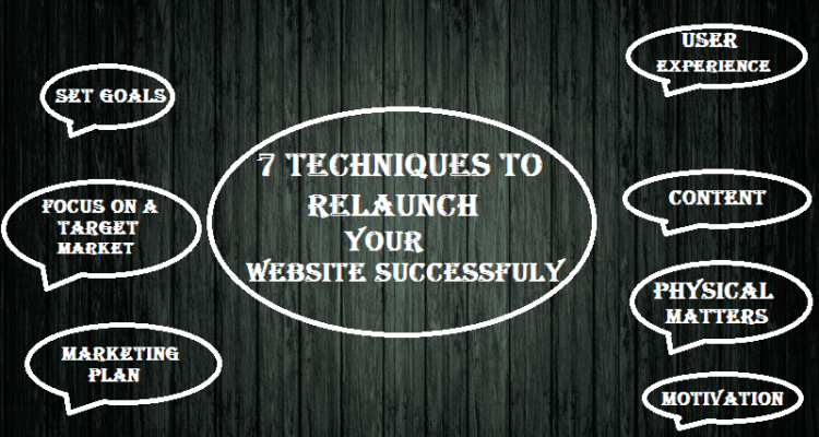 relaunch your website