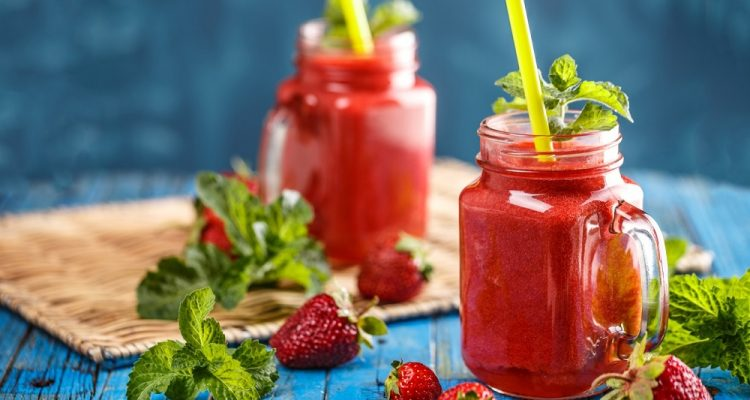 summer fruit drinks