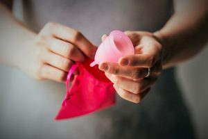 Menstrual cup uses